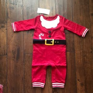 Gymboree Santa Suit 3-6 months NEW